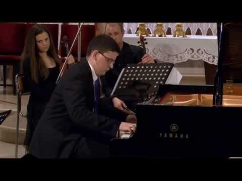 J. S. Bach - Piano Concerto no. 5 in f- minor, BWV 1056 - Sven Brajković, piano