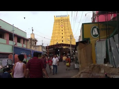 Rameshwaram  Jyotirlinga darshan one of the twelve jyotirlingas Rameshwar  Island Tamilnadu India