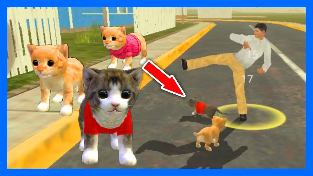 Игры для маленьких с котами