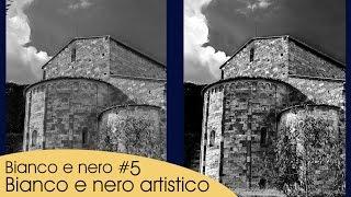 bianco e nero #5, Bianco e nero artistico - Tutorial Photoshop