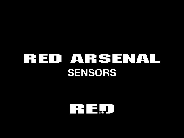 RED TECH | ARSENAL | SENSORS | 4K