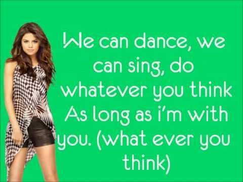 Selena Gomez & The Scene ft. Pixie Lott- We Own The Night lyrics