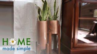 Vintage Indoor Planters   Home Made Simple   Oprah Winfrey Network