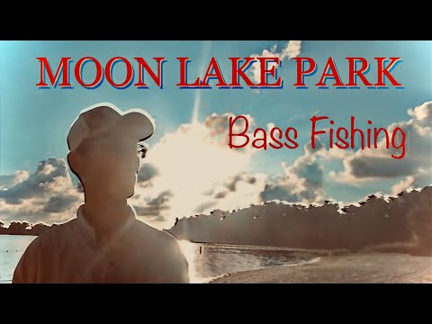 Bass Fishing At Moon Lake Park, New Port Richey, Florida