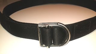 5.11 Tactical Trainer Belt - Hard-Use Review