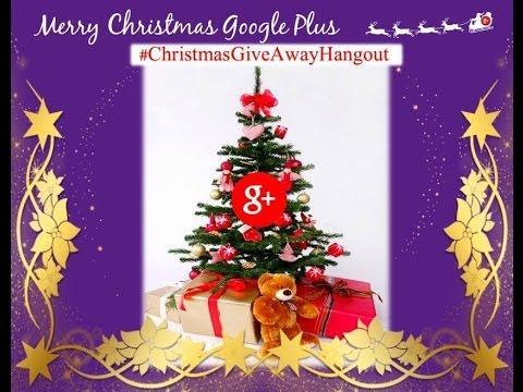 #ChristmasGiveAwayHangout