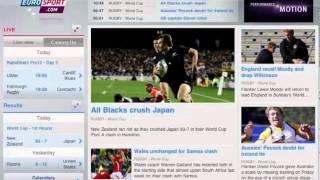 Eurosport for iPad screenshot 4