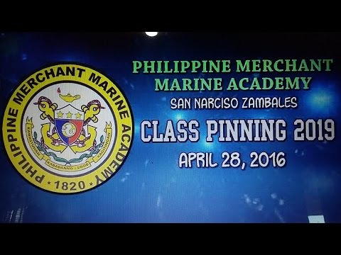 Recognition and Batch Pinning Philippine Merchant Marine Academy Class of 2019
