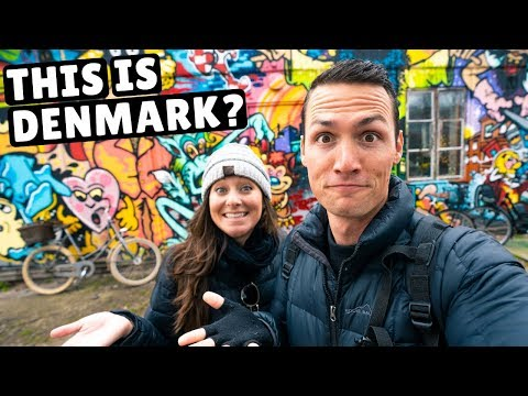 First Impressions of COPENHAGEN (strangest place we've ever been)