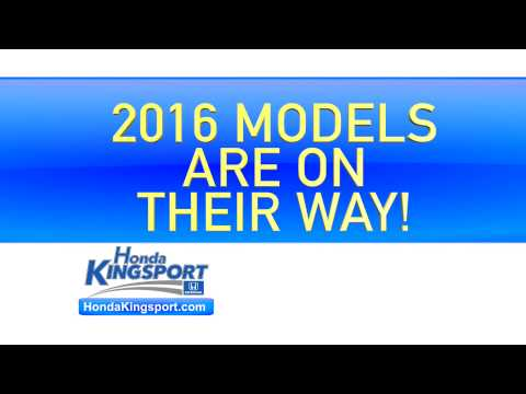 2015 Model Year Clearance at Honda Kingsport