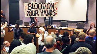 Charlottesville City Council Meeting Erupts In Chaos, Anger, Demands For Mayor To Resign
