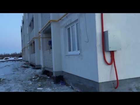 В Аткарске разваливается новостройка для сирот