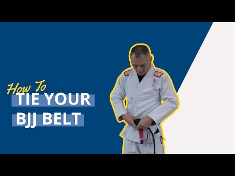 How to Tie Your BJJ Belt Like A Boss