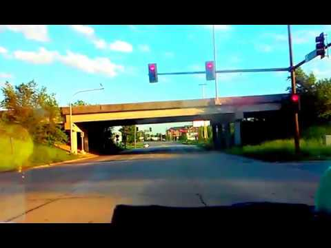 Cedar Rapids, IA: Center Point Rd. Southbound From Hiawatha To Downtown Cedar Rapids