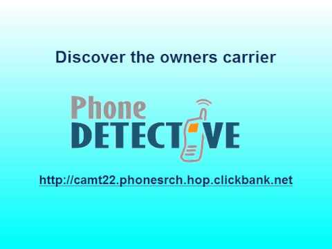Mobile Number Tracker  - The Phone Detective Mobile Number Tracker