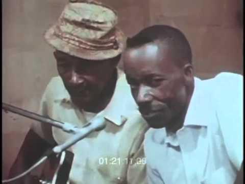 James Son Thomas and Joe Cooper singing