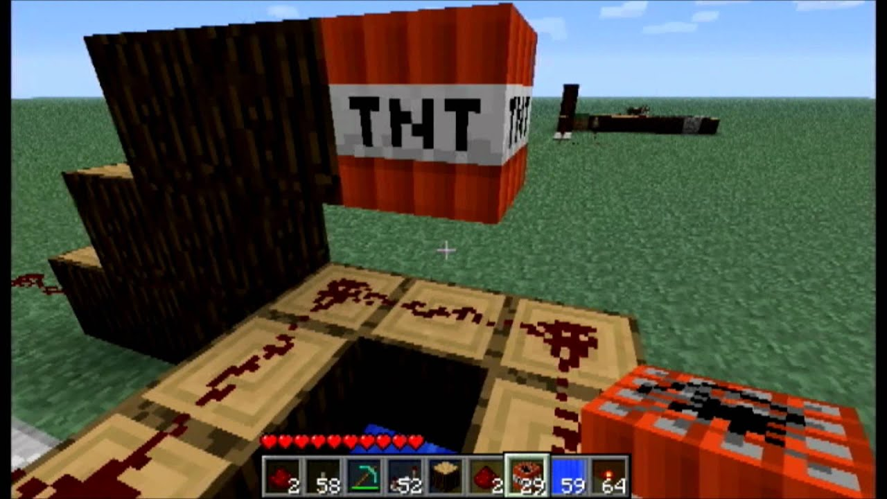 minecraft how to make tnt fall