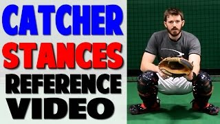 Baseball Catcher Stances | Reference Video (Pro Speed Baseball)