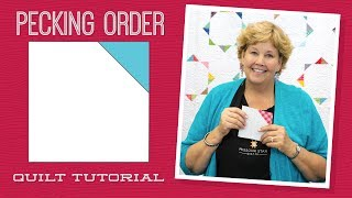 """Make a """"Pecking Order"""" Quilt with Jenny!"""