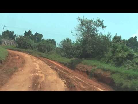 Uganda Roads - typical road in the heart of Uganda