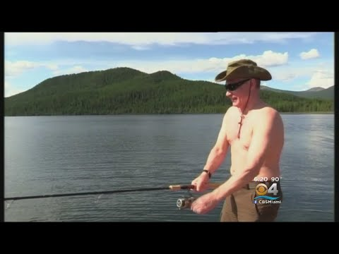 Shirtless Putin Goes On Fishing & Hunting Trip