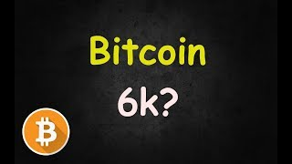 😊 Bitcoin 6K Real Soon? My Thoughts! 🔴 LIVE