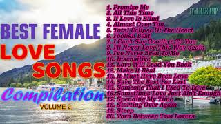 BEST FEMALE LOVE SONGS COMPILATION