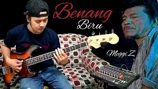 Benang Biru . Meggi Z Bass Cover Dangdut original