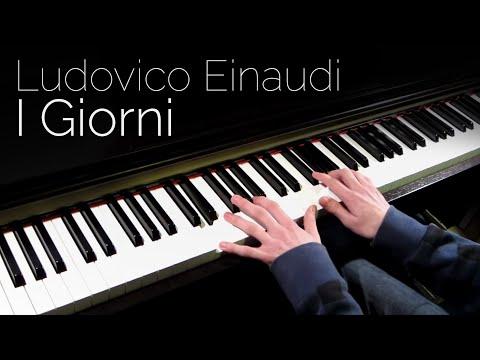 Ludovico Einaudi  I Giorni  Piano HD