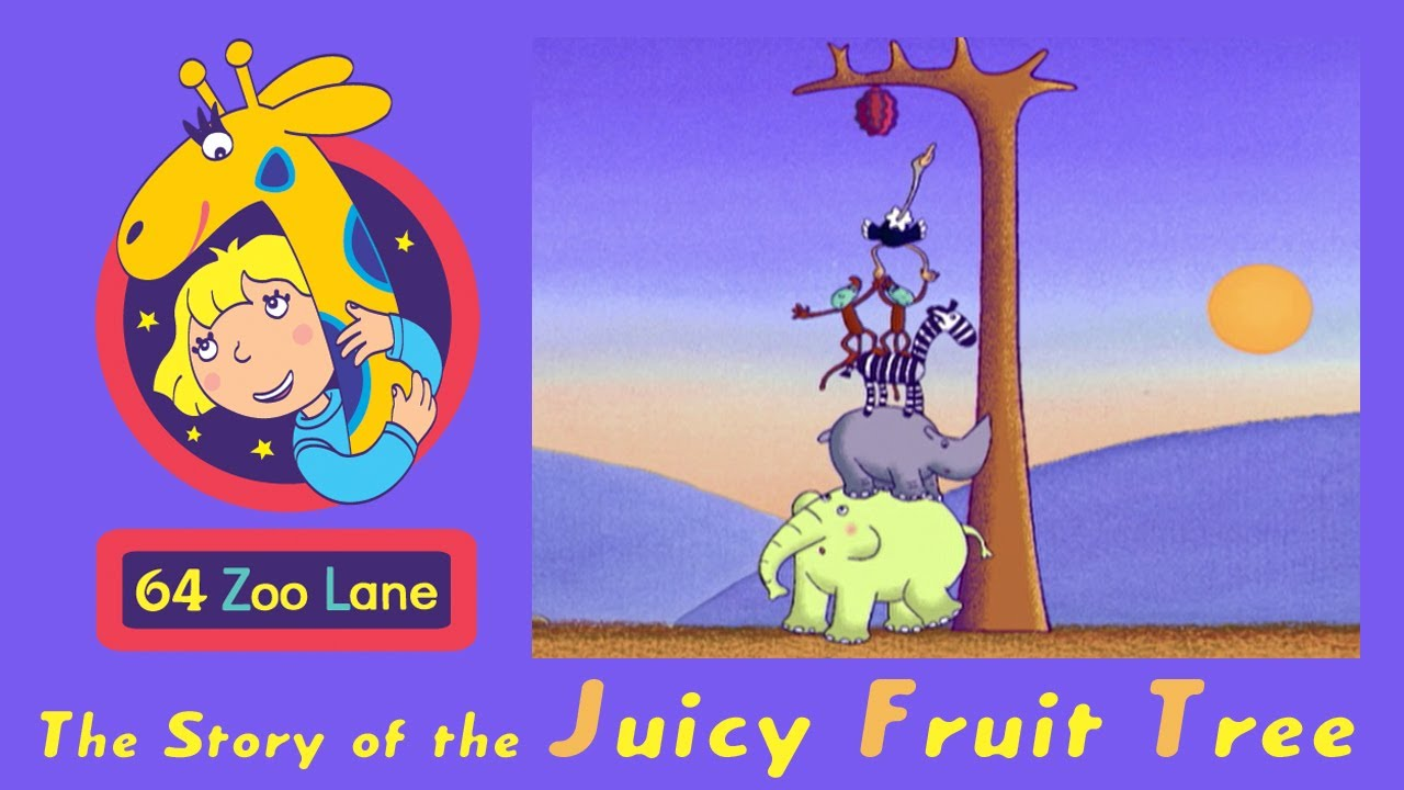 juicy fruit tree