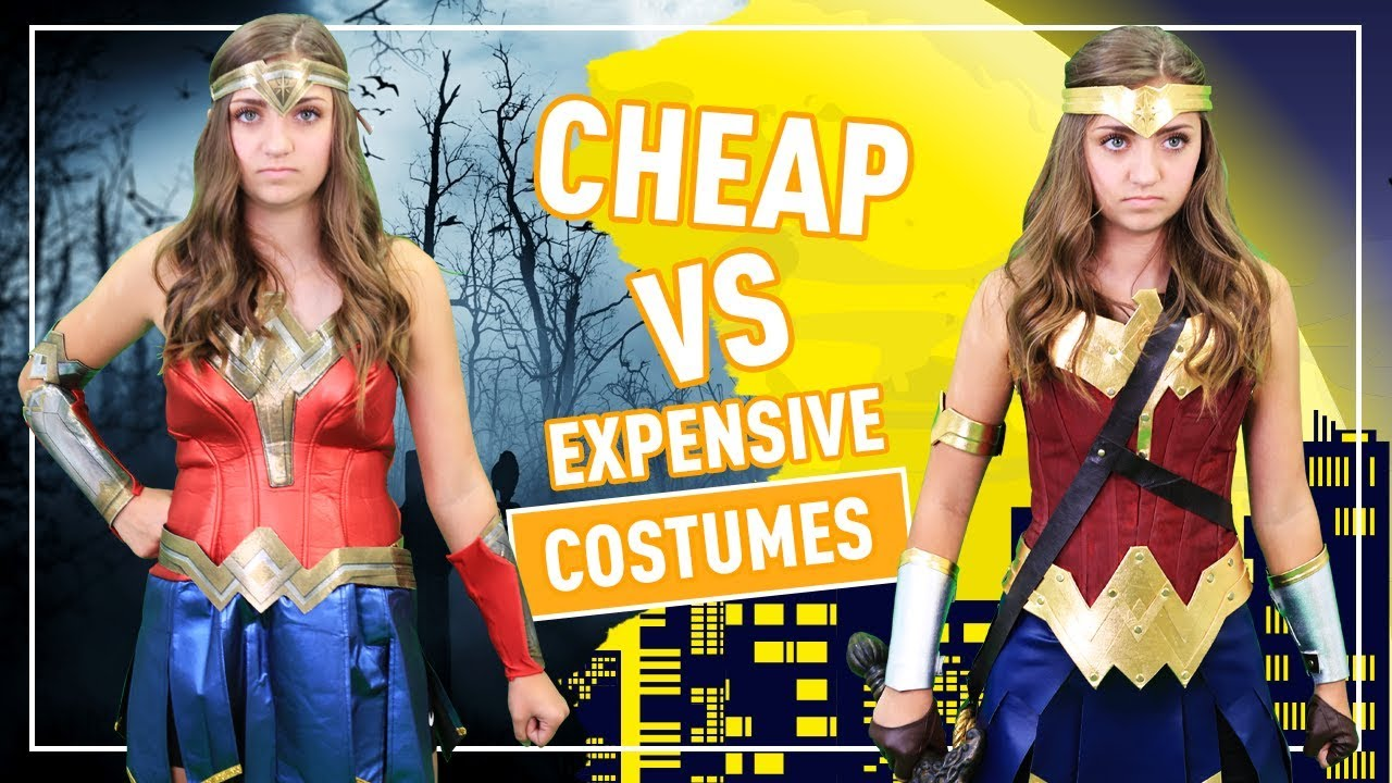 CHEAP vs. EXPENSIVE HALLOWEEN COSTUMES 👻🎃💀 | Kamri Noel - YouTube