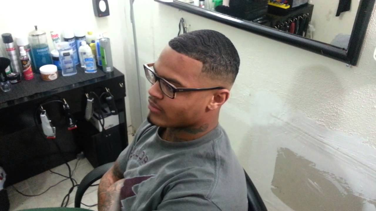 Bald Drop Fade 1 1/2 On Top   YouTube