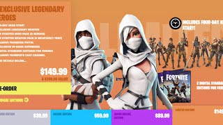 Fortnite Buying Limited Edition Founder's Pack Regrets thumbnail