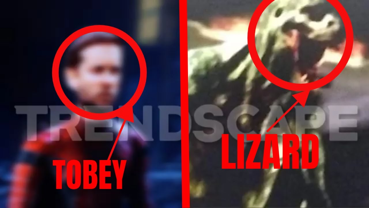 Download NEW ALLEGED SPIDERMAN NO WAY HOME LEAKS | TOBEY AND LIZARD LEAK FOOTAGE ?!
