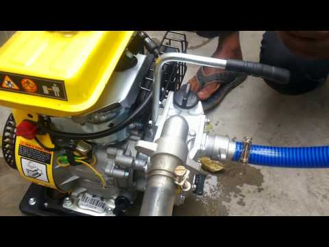 Demonstration Of Petrol Water Pump, Amazing For Farming,irrigation !! | Call Now - 03436610100