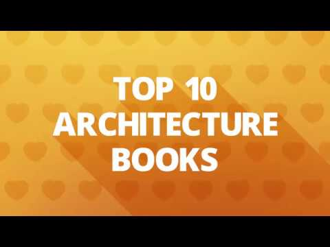 Top 10 Architecture Books November 2016