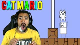 Скачать THAT F K THREW ME TO HELL Cat Mario 3 RAGE