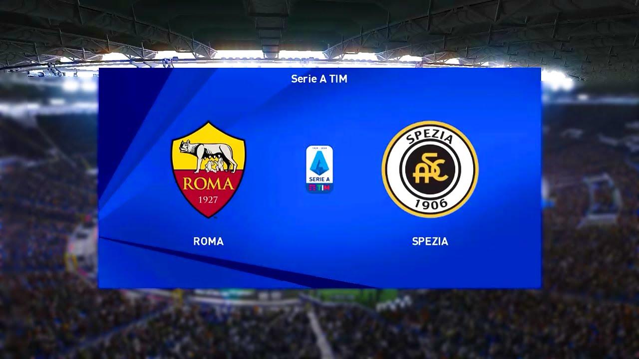 Download ⚽ Roma vs Spezia ⚽   Serie A (23/01/2021)   PES 2021