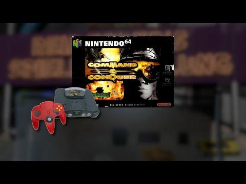 Gameplay : Command & Conquer [Nintendo 64]
