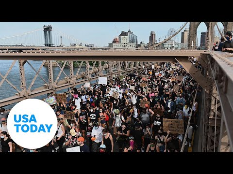 Large demonstrations across country anchor weekend of protests (LIVE) | USA TODAY