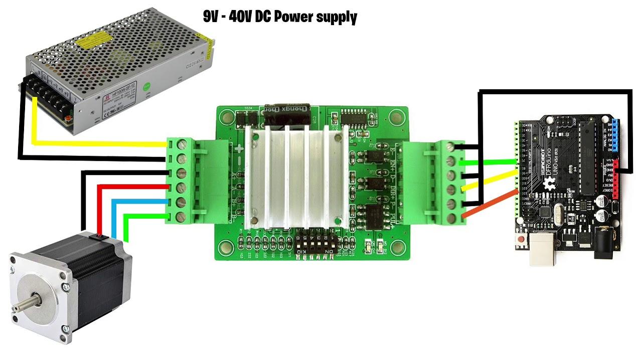 Tb6600 Wiring Diagram Arduino