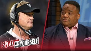 Jon Gruden's Hard Knocks performance won't amount to wins for the Raiders | NFL | SPEAK FOR YOURSELF
