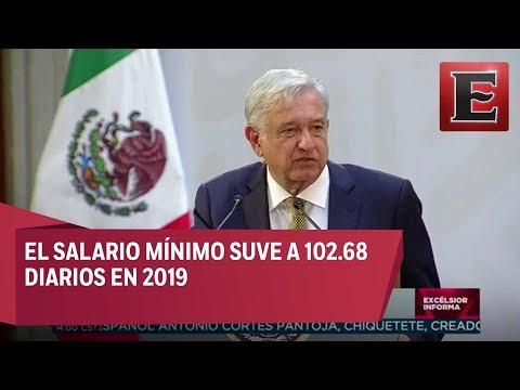 LO ÚLTIMO: López Obrador Presenta La Nueva Política De Salarios Mínimos