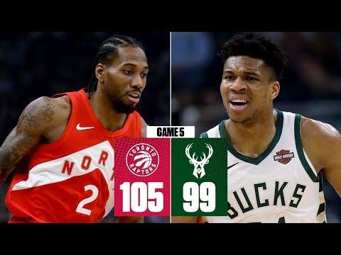 Kawhi Leonard, Raptors Win Game 5 Vs. Bucks, On Brink Of NBA Finals | 2019 NBA Playoff Highlights