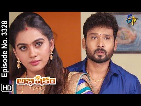 Abhishekam   14th September 2019   Full Episode No 3328   ETV Telugu