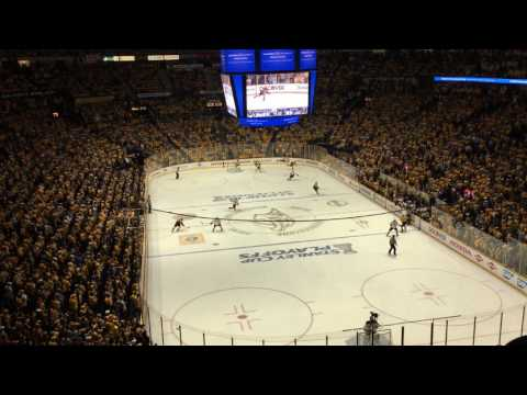 Deafening Nashville Predators Playoff Chants vs Ducks 2017 HD Western Finals