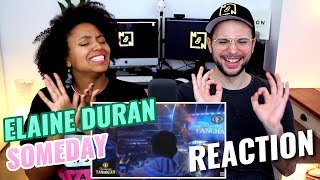 Elaine Duran - Someday | Tawag ng Tanghalan | REACTION