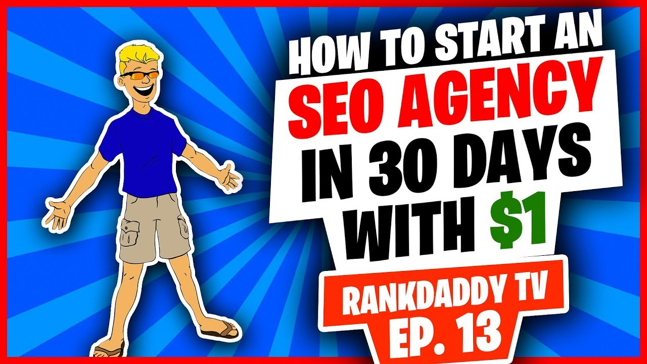 How to Start an SEO Agency in 30 days with $1 TankDaddy TV  EP 13