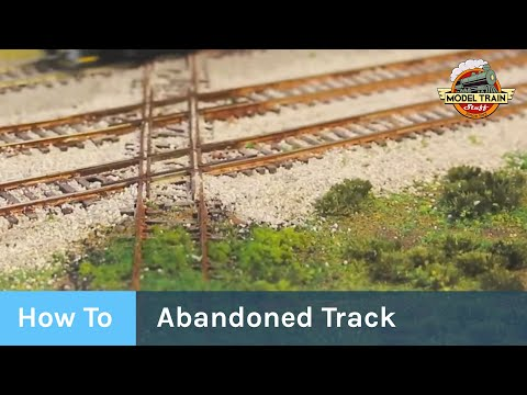 How to: Create an abandoned track scene