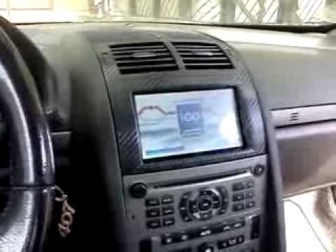 peugeot 407 with gps 7 navo 7003hd bt avin youtube. Black Bedroom Furniture Sets. Home Design Ideas